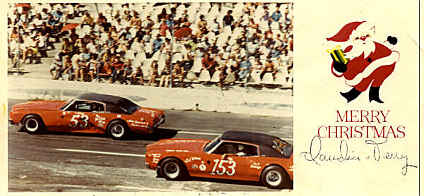 How many drivers had Christmas cards made up in the 70's. Photo #579